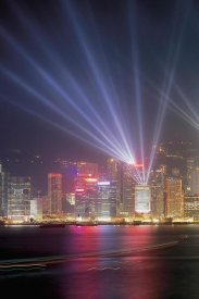 Chan Yat Nin - Symphony of Lights, Hong Kong (left)