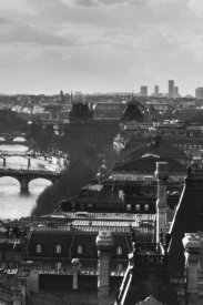 Peter Turnley - River Seine and the City of Paris (right)
