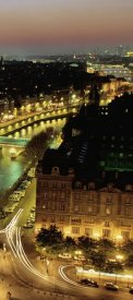 Michel Setboun - Overlooking Paris at Night (right)