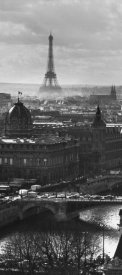 Peter Turnley - River Seine and the City of Paris (left)
