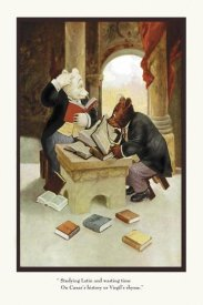 R.K. Culver - Teddy Roosevelt's Bears: Teddy B and Teddy G Studying Latin
