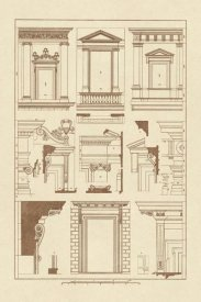J. Buhlmann - Windows of Palazzo Non Finito, Palace and House at Rome