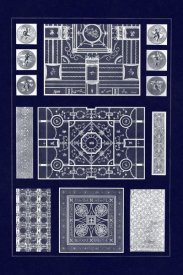 J. Buhlmann - Painted Ceilings and Pavements from Pompeii (Blueprint)