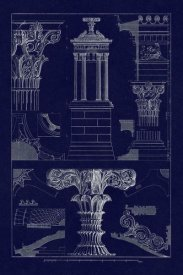 J. Buhlmann - Monument of Lysicrates at Athens (Blueprint)