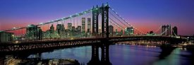 Richard Berenholtz - Manhattan Bridge and Skyline III