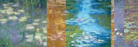 Monet Deco - Waterlilies II