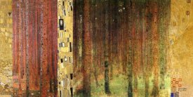 Klimt Patterns - Forest I