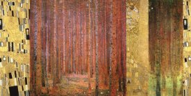 Klimt Patterns - Forest II
