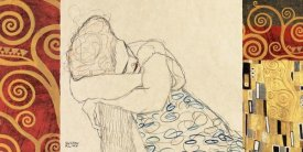 Klimt Patterns - Woman Resting