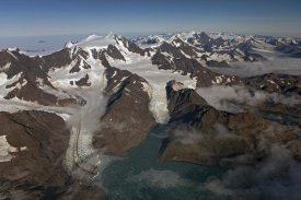 Ingo Arndt - Harker and Hamberg Glacier with Allardyce Range, South Georgia Island