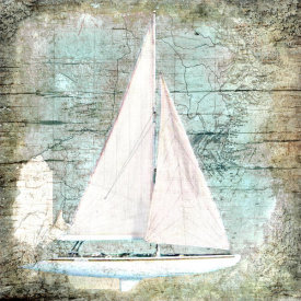 Karen J. Williams - Sailboat Map III