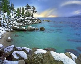 Tim Fitzharris - Hidden Beach and Memorial Point, Lake Tahoe, Nevada