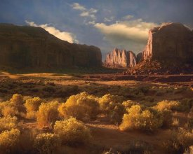 Tim Fitzharris - Camel Butte rising out of desert, Monument Valley, Arizona