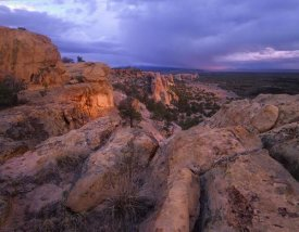 Tim Fitzharris - Rocky outcroppings in El Malpais National Monument, New Mexico