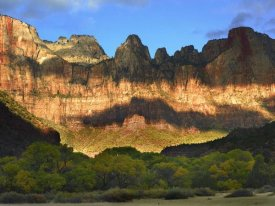 Tim Fitzharris - Towers of the Virgin with cloud shadows, Zion National Park, Utah