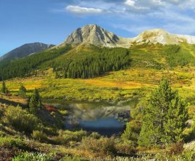 Tim Fitzharris - Pond and Green Mountain, Green Mountain National Forest, Colorado