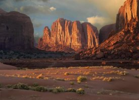 Tim Fitzharris - Camel Butte rising from the desert floor, Monument Valley, Arizona