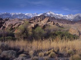 Tim Fitzharris - Mount Whitney and the Sierra Nevada from Alabama Hills, California