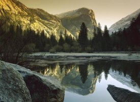 Tim Fitzharris - Mt Watkins reflected in Mirror Lake, Yosemite National Park, California
