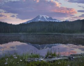 Tim Fitzharris - Mount Rainier and Reflection Lake, Mount Rainier National Park, Washington