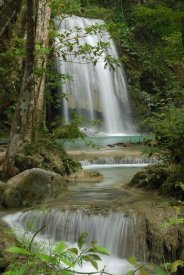 Thomas Marent - Seven Step Waterfall in monsoon forest, Erawan National Park, Thailand