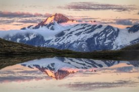 Colin Monteath - Mount Aspiring, moonrise over Cascade Saddle, Mount Aspiring National Park, New Zealand