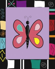 Najah Clemmons - Bright Mosaic Butterfly