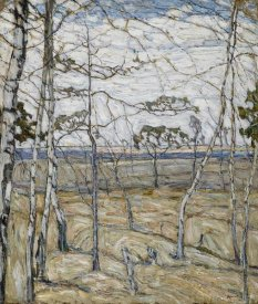 Abraham Manievich - Birch Trees, 1911