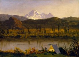 Albert Bierstadt - Mt. Baker, Washington, From the Frazier River, 1890