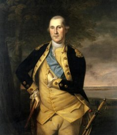 Charles Willson Peale - George Washington, 1776