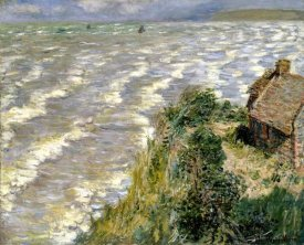 Claude Monet - Rising Tide at Pourville (Maree montante a Pourville), 1882
