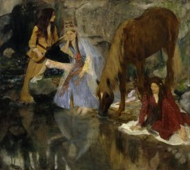 Edgar Degas - Portrait of Mlle Fiocre in the Ballet