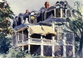 Edward Hopper - The Mansard Roof, 1923