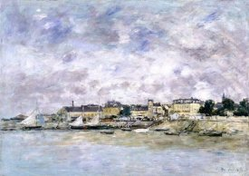 Eugene Boudin - The Port, Trouville (Trouville, Le Port), 1886