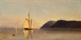 Francis Augustus Silva - Boats on the Hudson, ca. 1874-1878