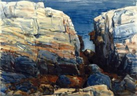 Frederick Childe Hassam - The Gorge, Appledore, 1912