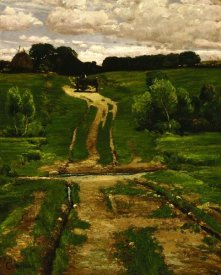 Frederick Childe Hassam - A Back Road, 1884