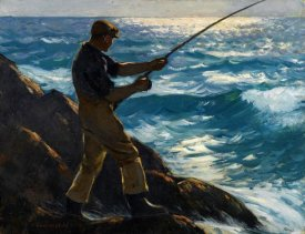 Gifford Reynolds Beal - The Fisherman, 1922