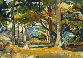 Paul Dougherty - Cedar Grove by the Sea, ca. 1916