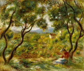 Pierre-Auguste Renoir - The Vineyards at Cagnes (Les Vignes à Cagnes), 1908