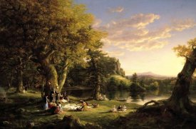 Thomas Cole - The Pic-Nic, 1846