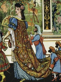 Walter Crane - Beauty and the Beast - Beauty