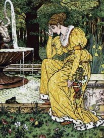 Walter Crane - Frog Prince - In Yellow