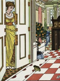 Walter Crane - Frog Prince - Greeting the Frog