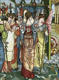 Walter Crane - Hind in the Wood - The Baby