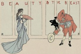 Walter Crane - Beauty and the Beast - The Bow