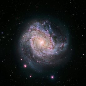 NASA - M83 - Spiral Galaxy (Hubble-Magellan Composite)