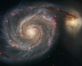 NASA - M51 - The Whirlpool Galaxy