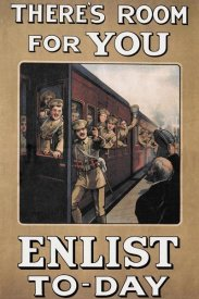 W.A. Fry - WWI: There's Room for You: Enlist Today