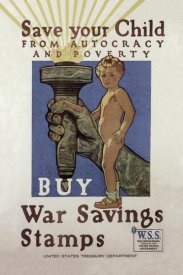 Herbert Andrew Paus - WWI: Save Your Child
